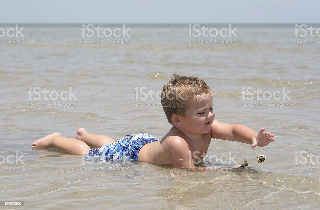 Drop in the Ocean stock photo