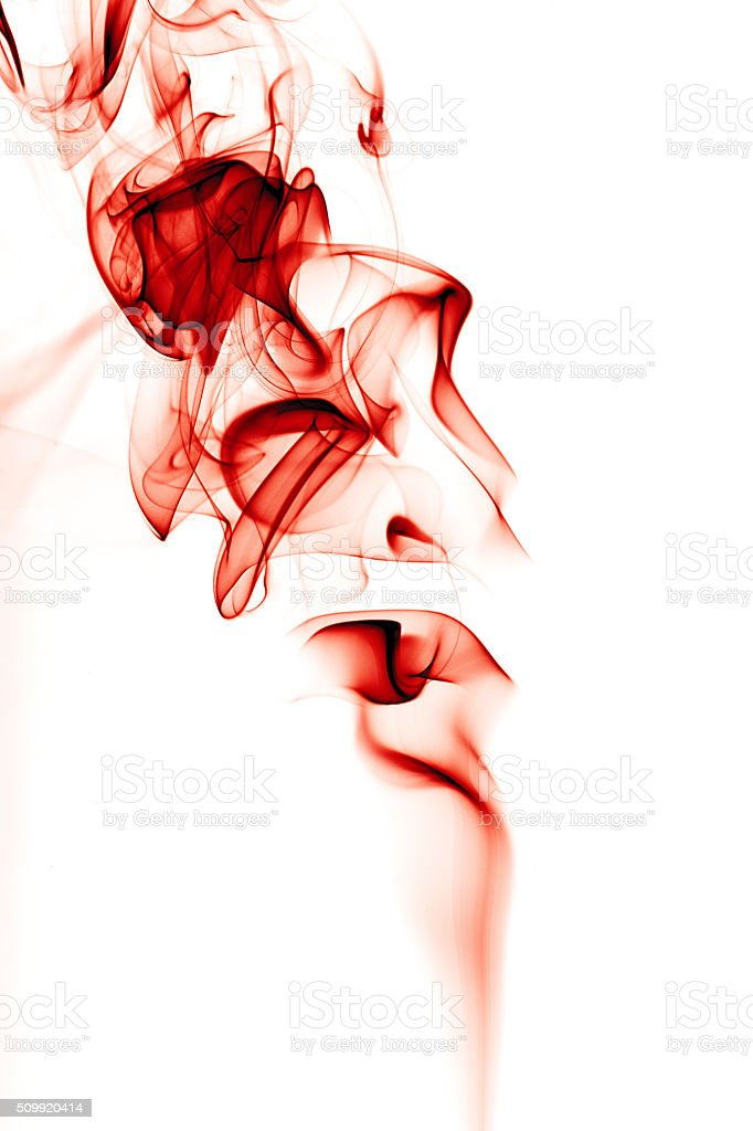 Drop of blood in water stock photo