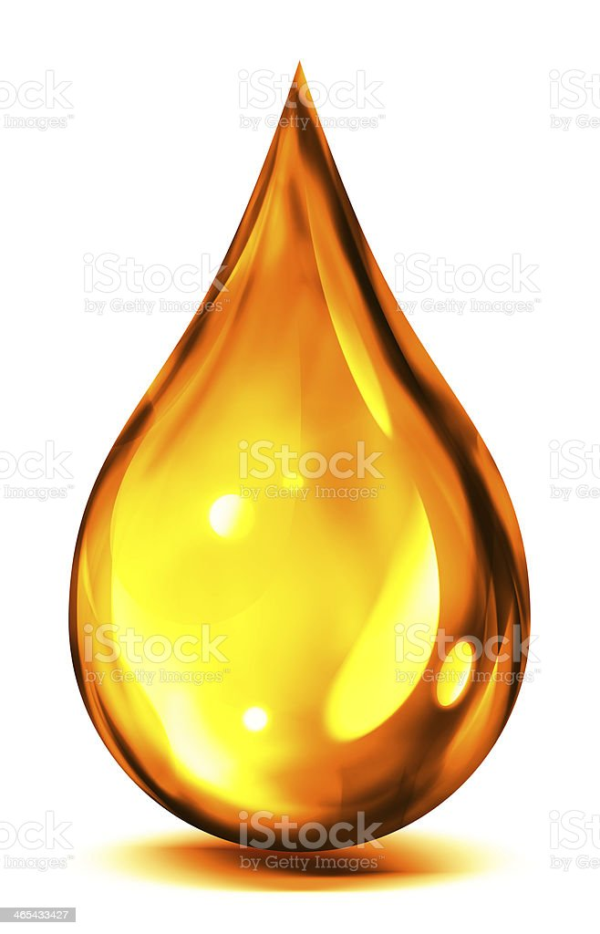 drop of oil or fuel stock photo