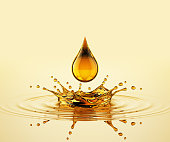 Drop On The Oil Splash