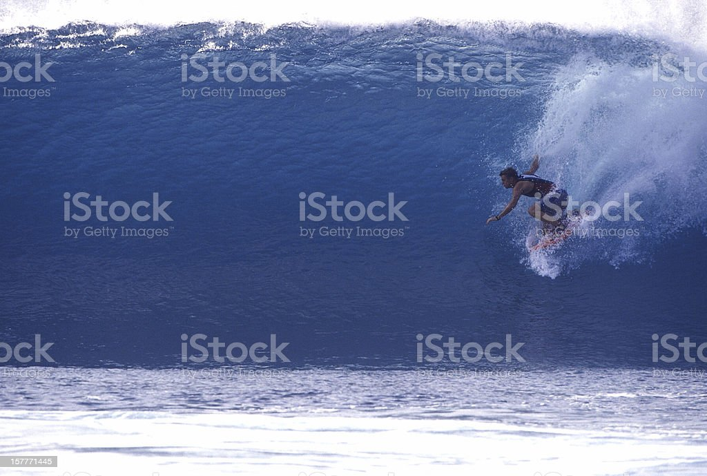 dropping in (second of 2) stock photo
