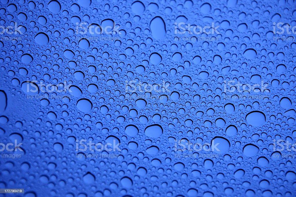 Dropplet Texture XXL royalty-free stock photo