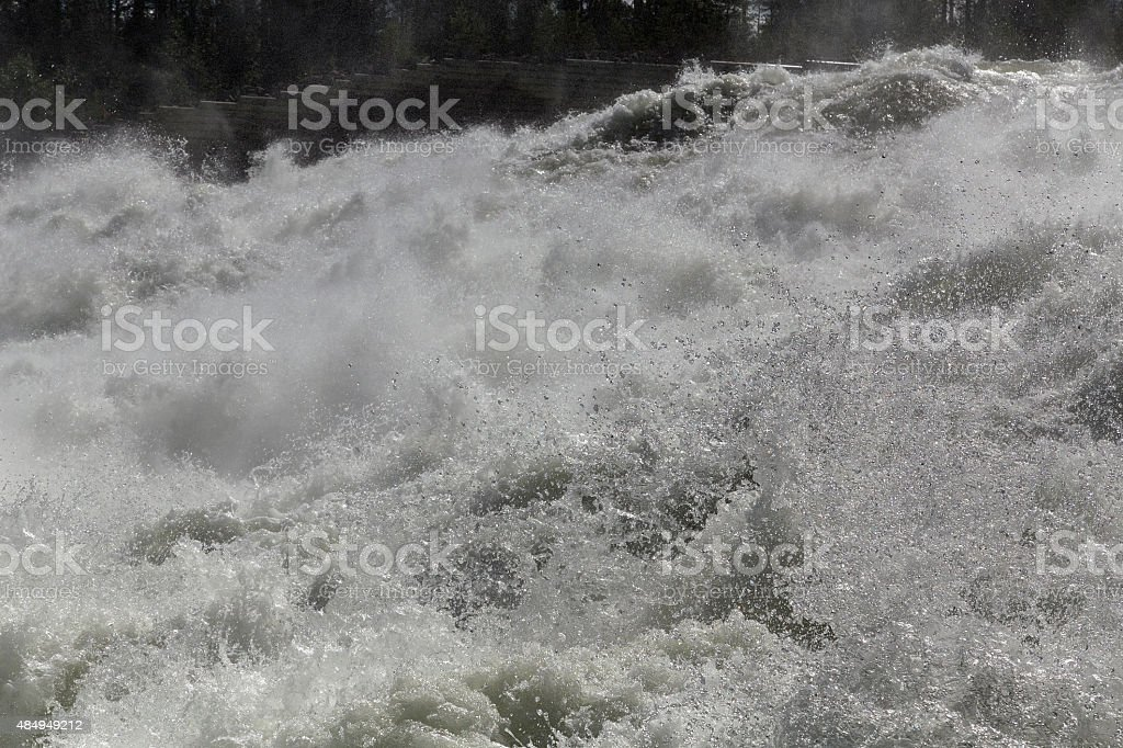 Drops of the river royalty-free stock photo