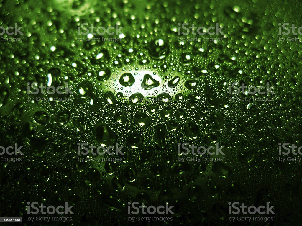 Drops of water 3 royalty-free stock photo