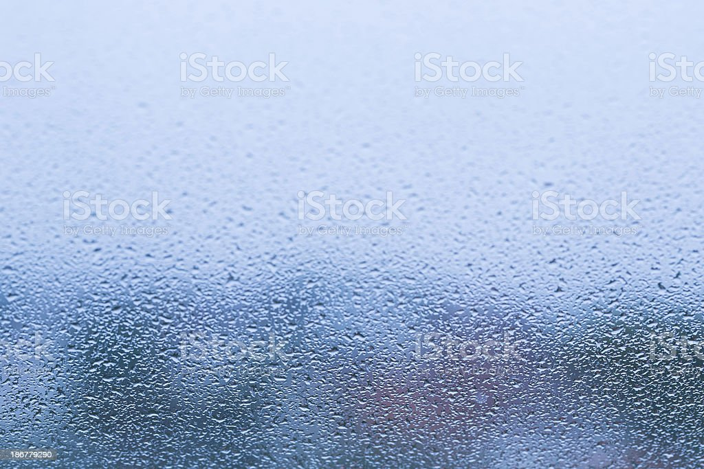 drops on window - day royalty-free stock photo