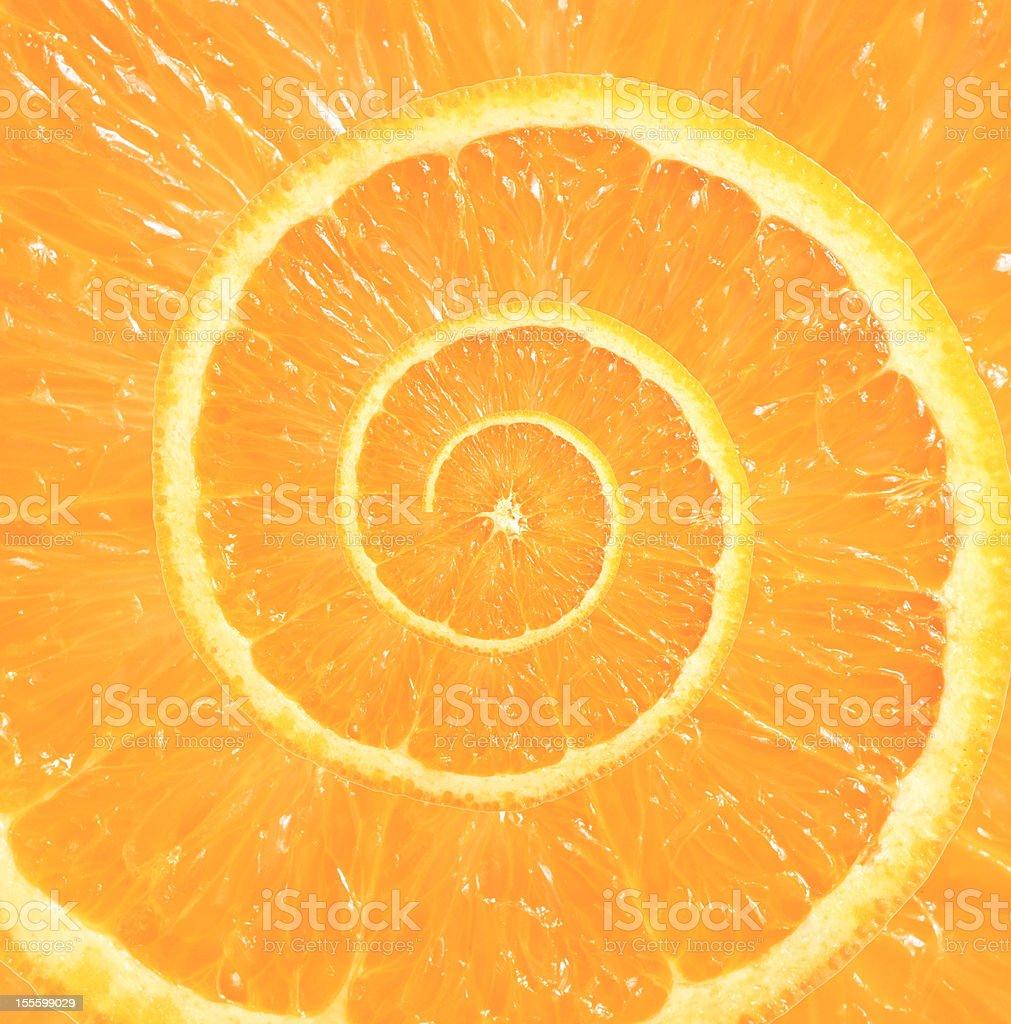 Droste orange royalty-free stock photo