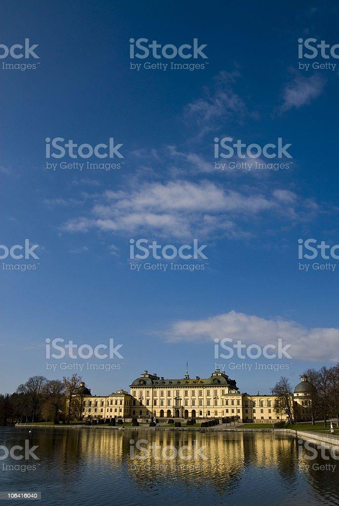 Drottningholm castle Stockholm Sweden stock photo
