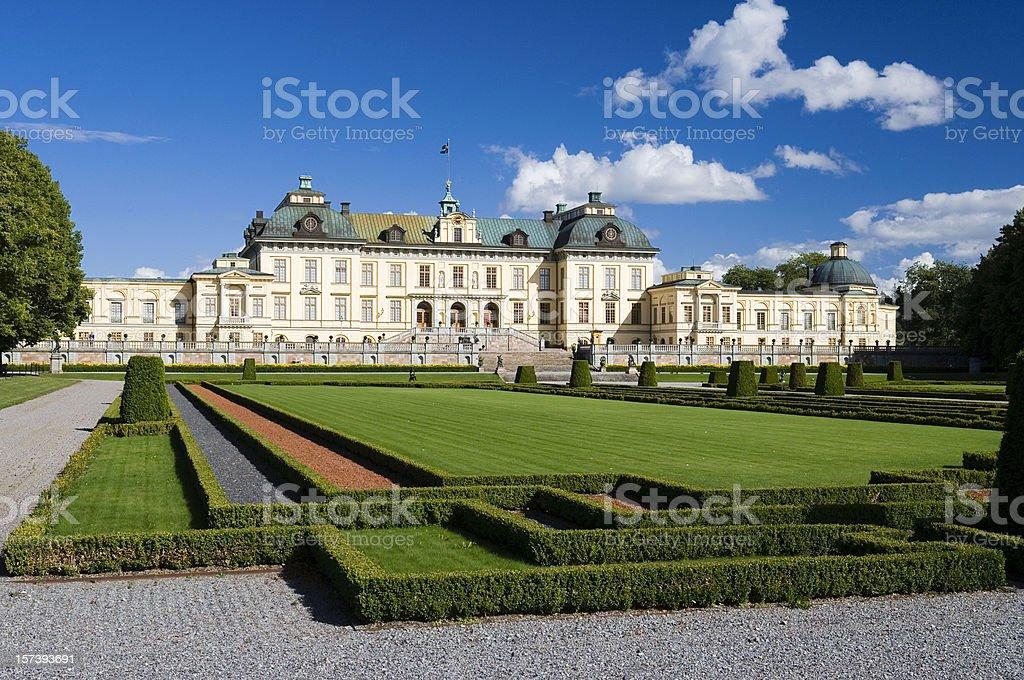 Drottningholm Palace (Sweden) stock photo