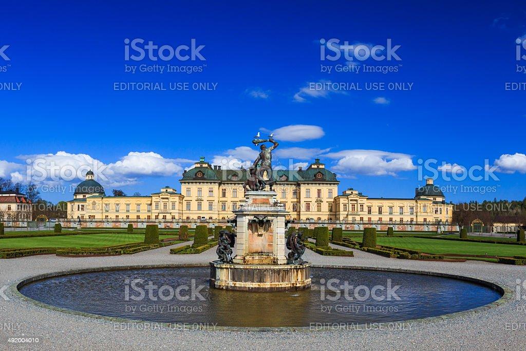 Drottningholm Palace stock photo