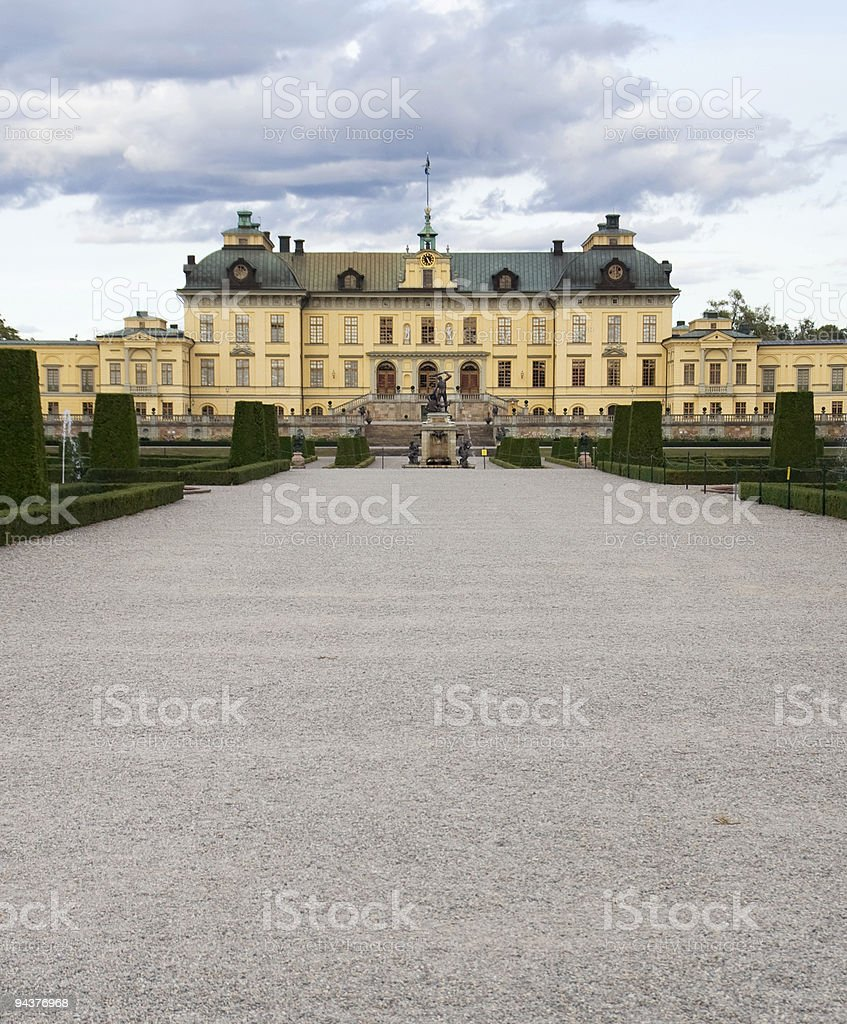 Drottningholm Palace royalty-free stock photo