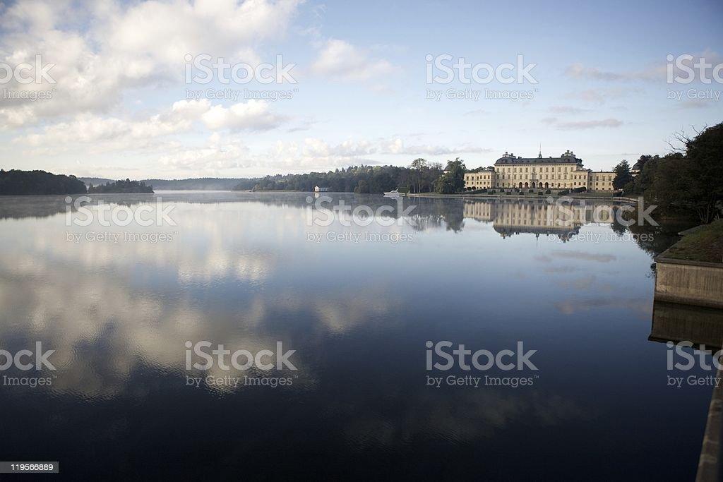 Drottningholm Palace Stockholm stock photo