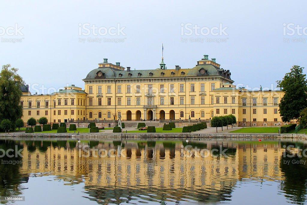 Drottningholm Palace, Stockholm, Sweden stock photo
