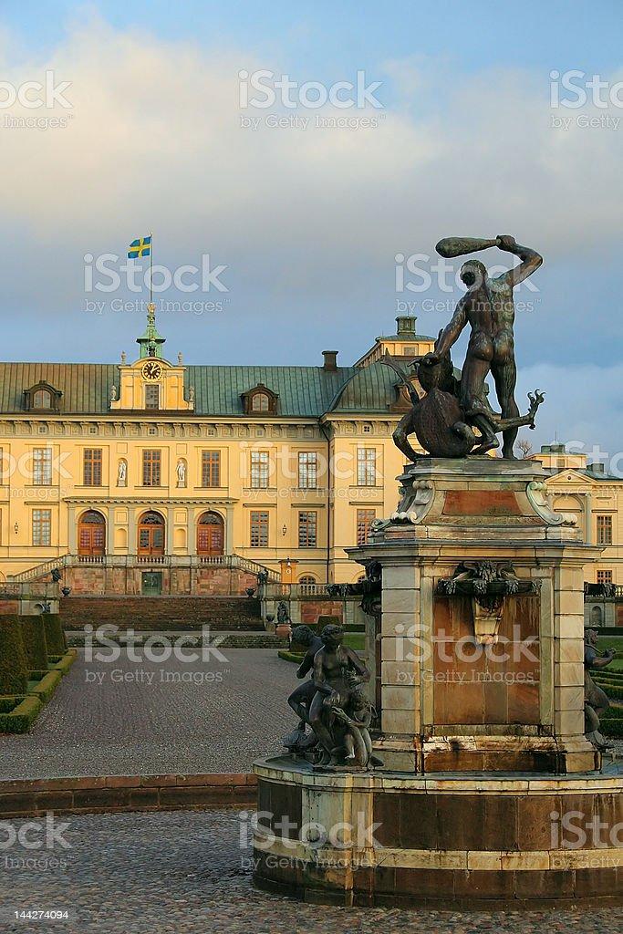 Drottningholm Palace, Sweden stock photo
