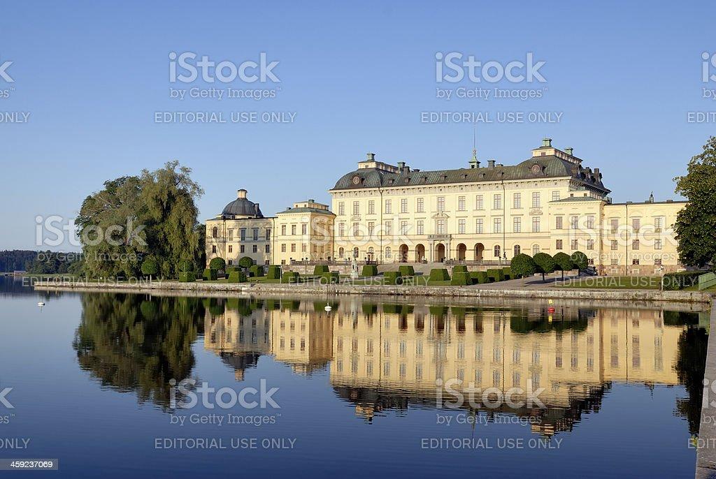 Drottningholm Palace,Stockholm stock photo