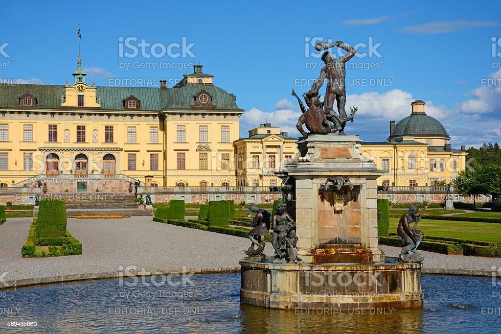 Drottningholm stock photo