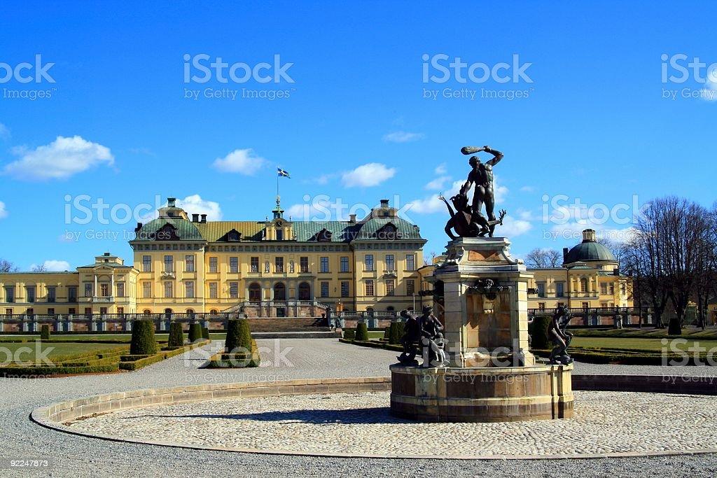 Drottningholmen Palace stock photo