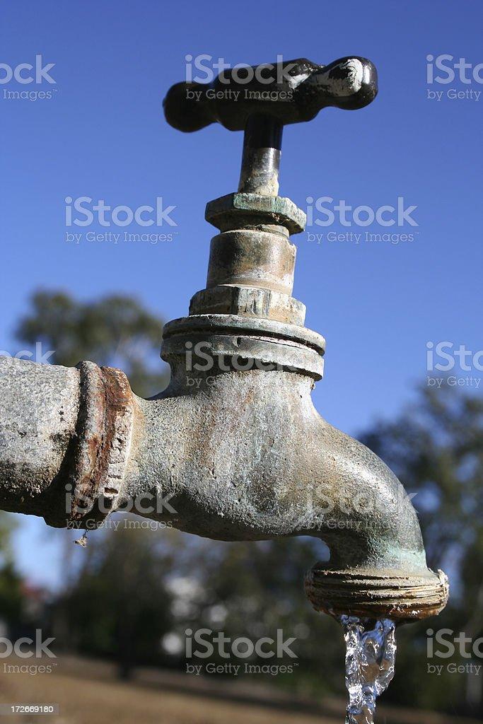 drought breaker stock photo
