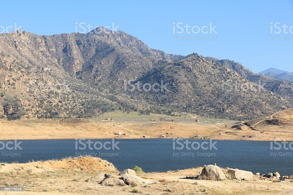 Drought in California stock photo