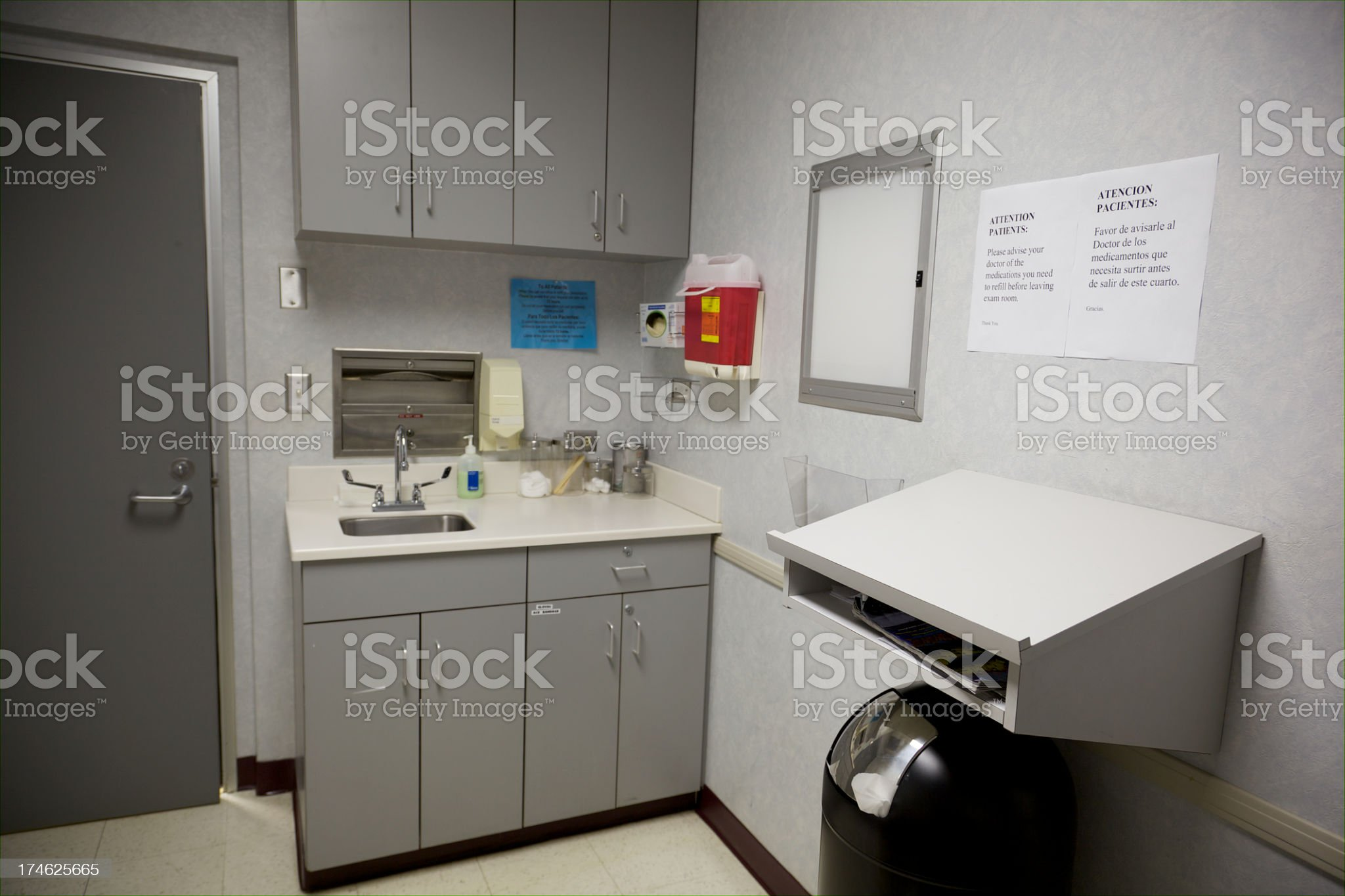 Dr.'s Office royalty-free stock photo