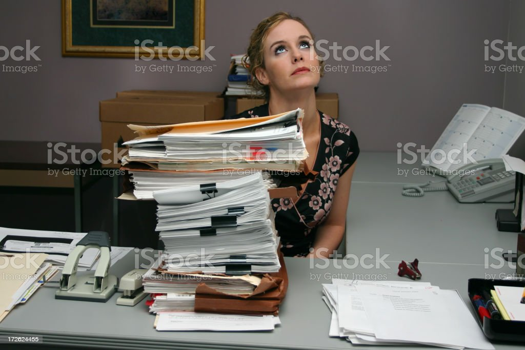 Drudgery royalty-free stock photo