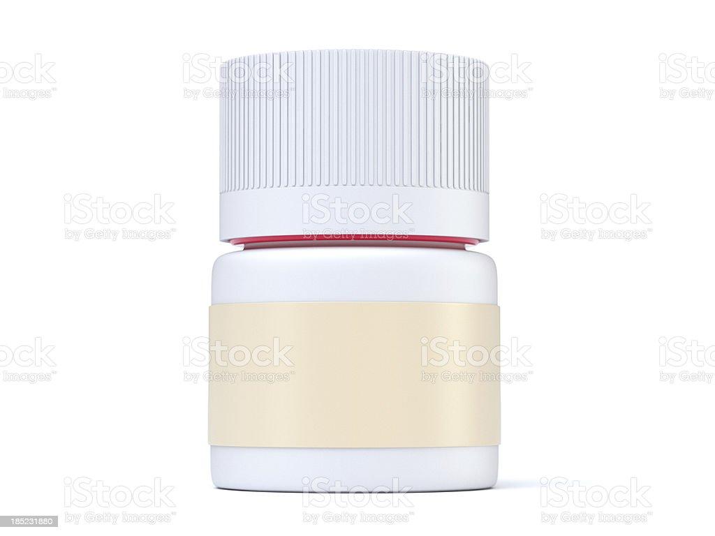 Drug Bottle stock photo
