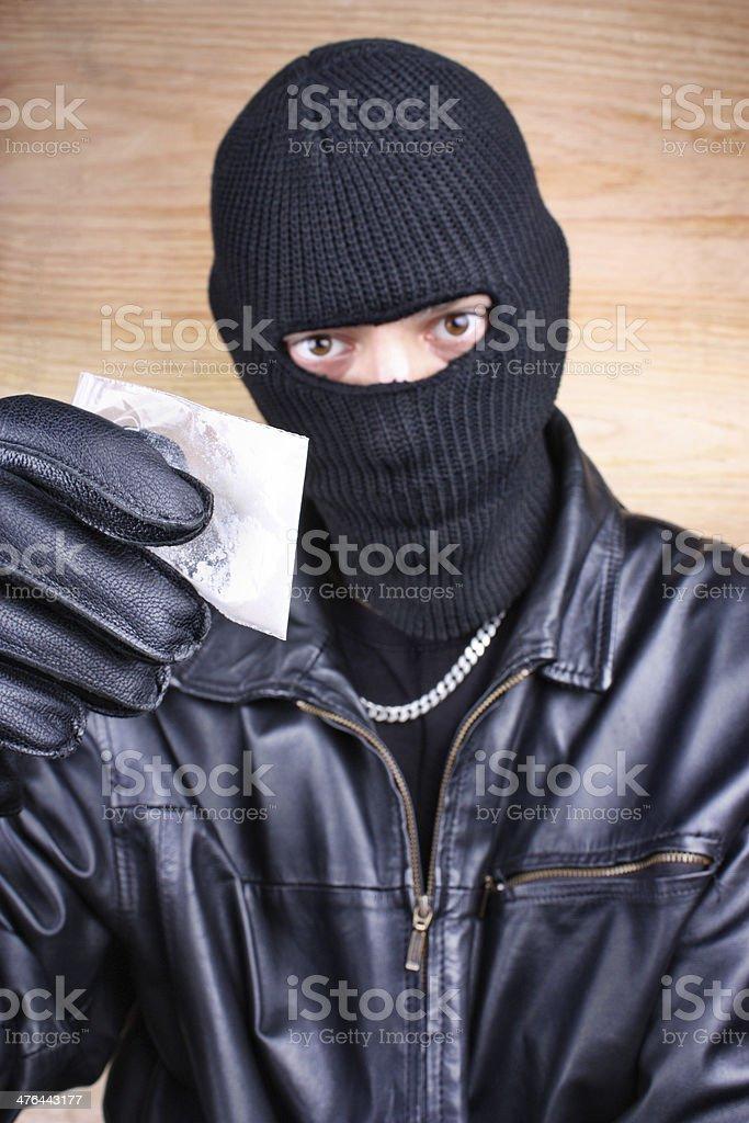 Drug dealer stock photo