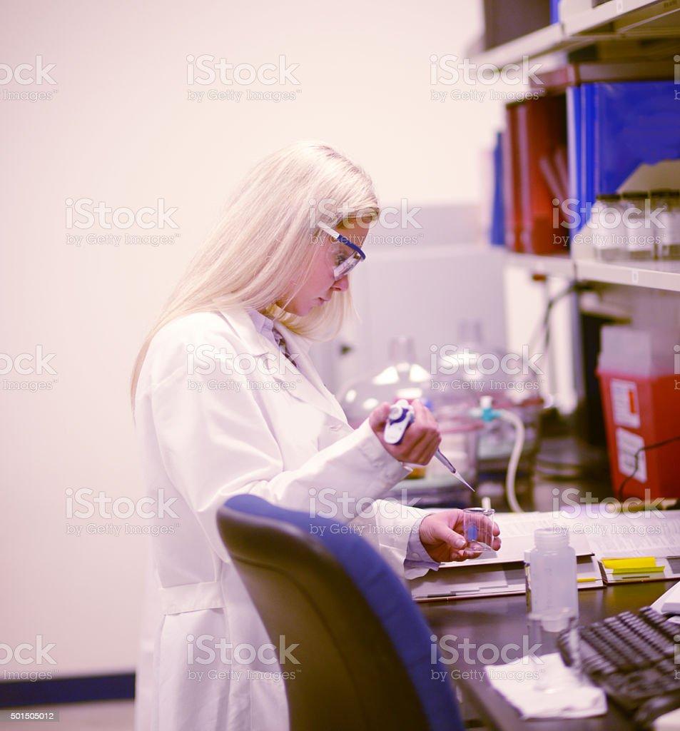 Drug developer stock photo