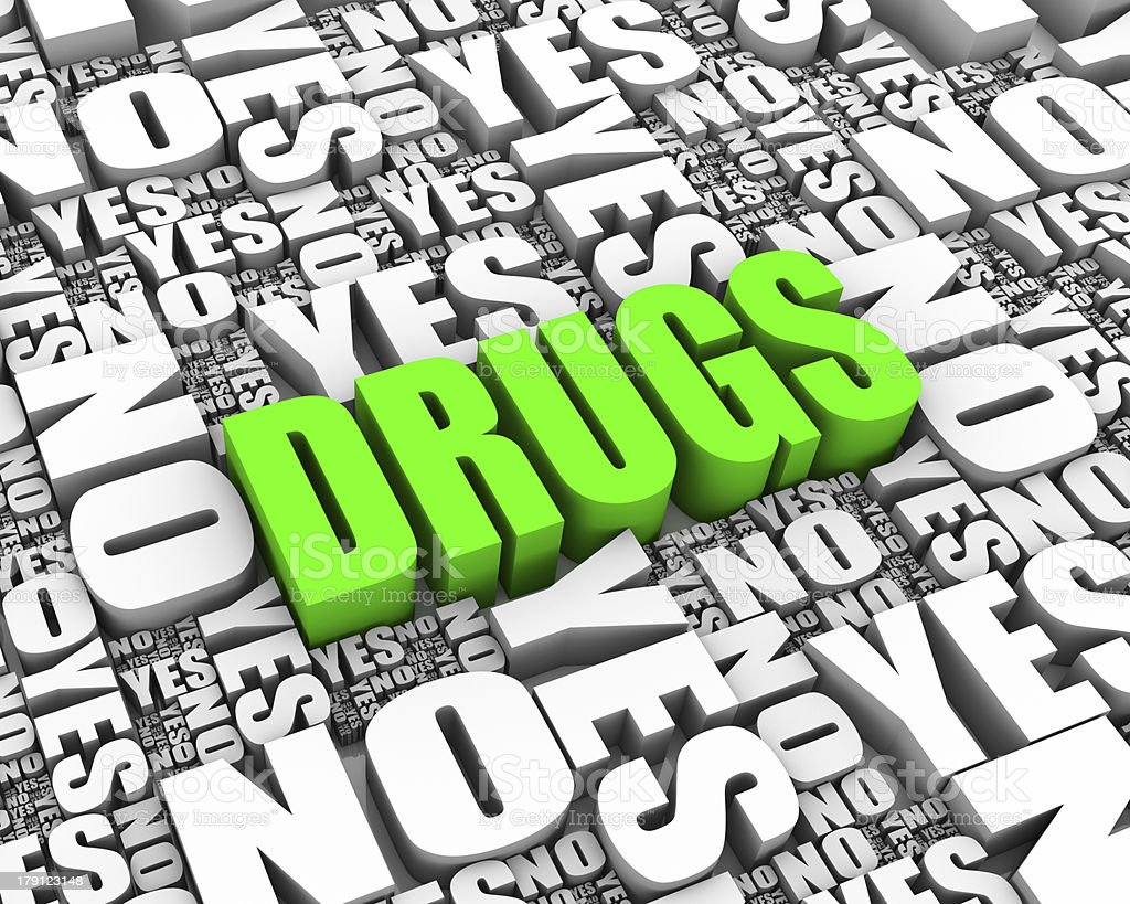 Drug Dilemma royalty-free stock photo