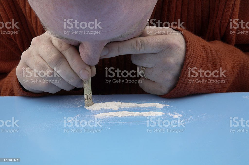 Drug Habit royalty-free stock photo