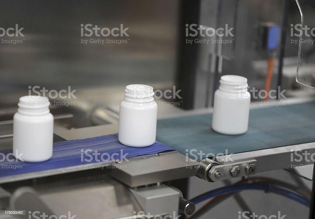 Drug Manufacturing stock photo