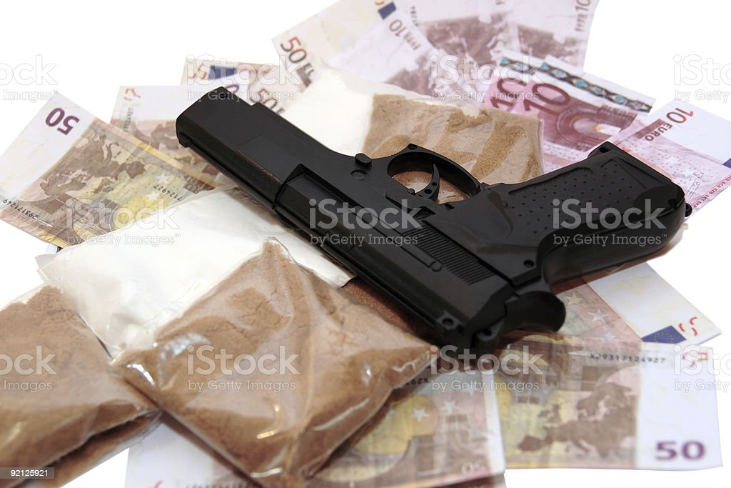 drug money vice royalty-free stock photo