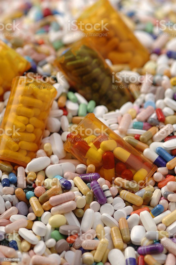 Drug Ocean royalty-free stock photo