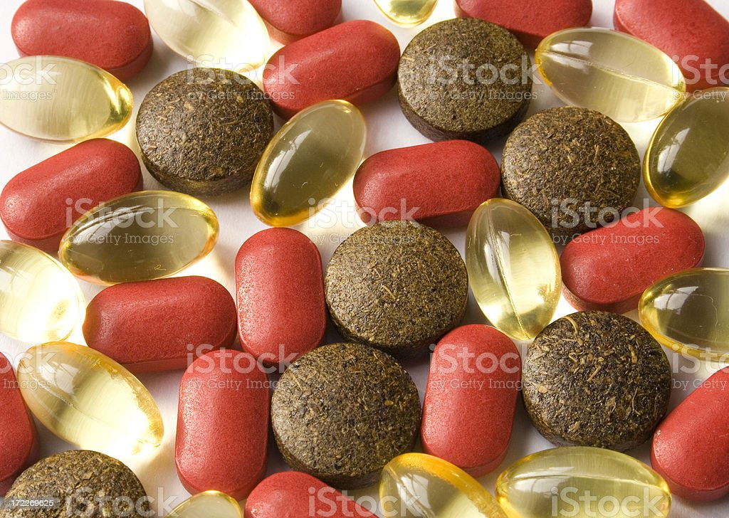 Drug pills royalty-free stock photo
