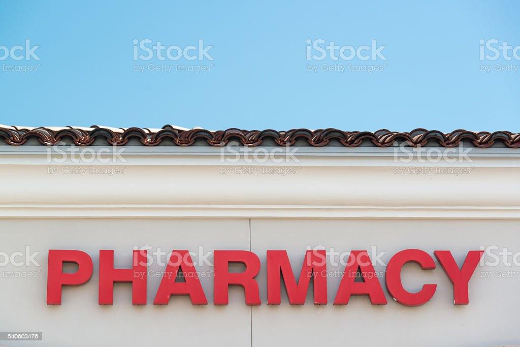 drug store stock photo