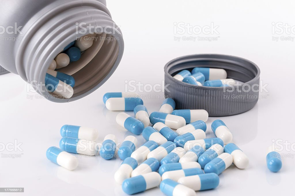 drug tablet royalty-free stock photo