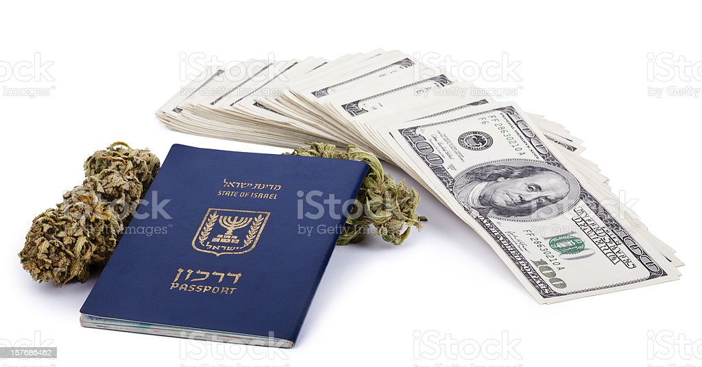 Drug Trafficking Pays Well royalty-free stock photo