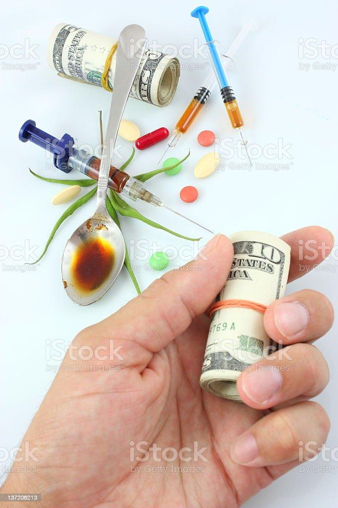 Drug Trafficking royalty-free stock photo