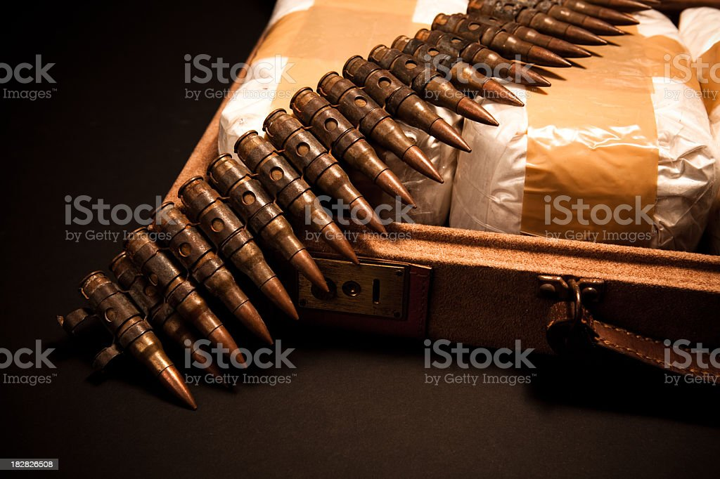 Drug Trafficking stock photo