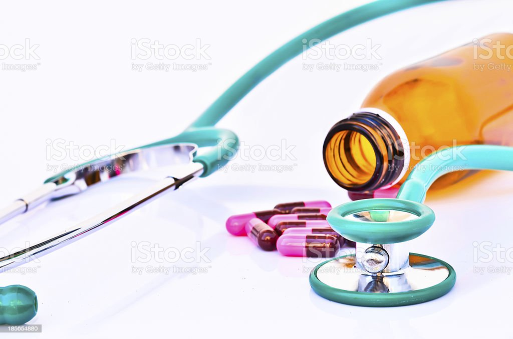 Drug treatment royalty-free stock photo