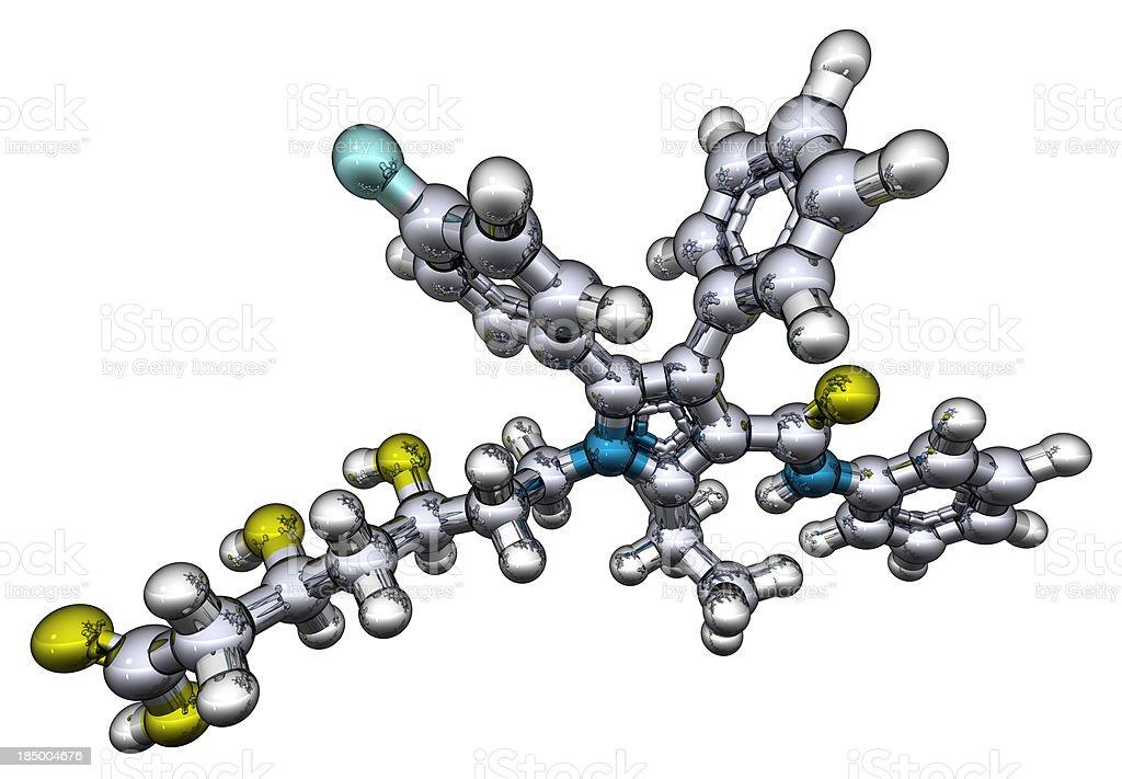 DrugModel: Atorvastatin stock photo