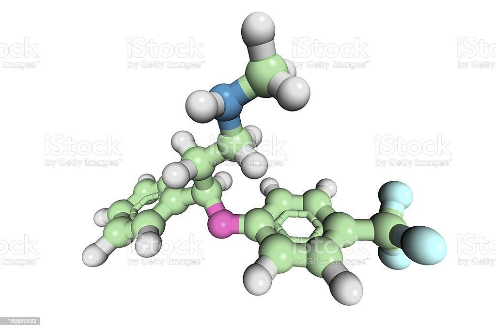 DrugModel: Fluoxetine stock photo