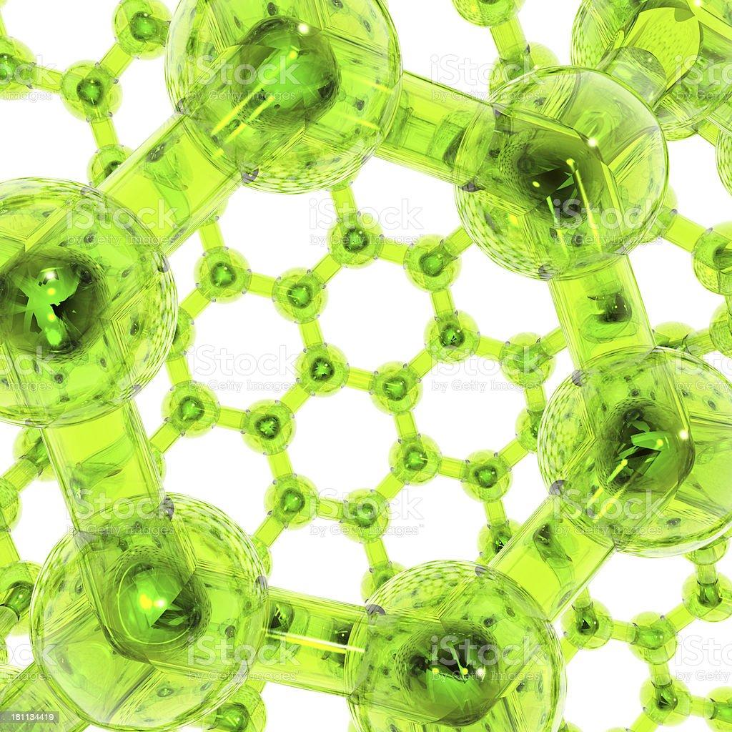 DrugModel; Nanotube stock photo