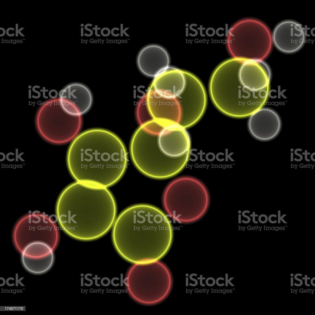 DrugModel: Vitamin C royalty-free stock photo
