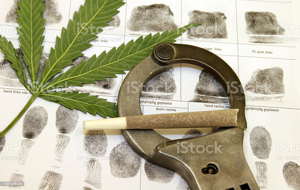 drugs against law royalty-free stock photo