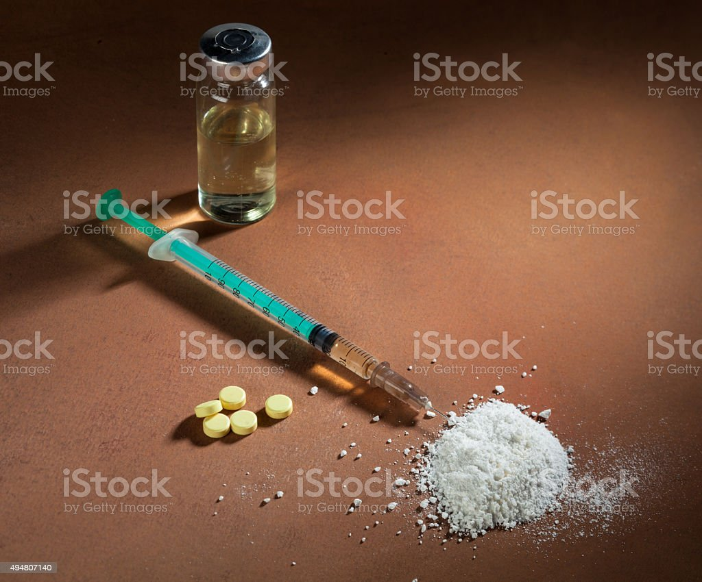 drugs stock photo