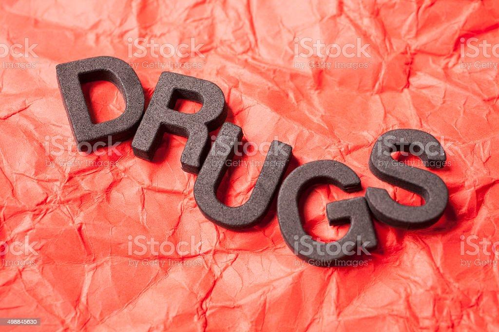 Drugs stock photo