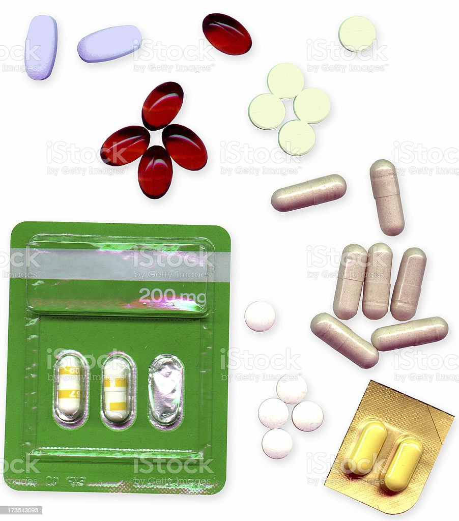 Drugs, Pills and Medicines royalty-free stock photo