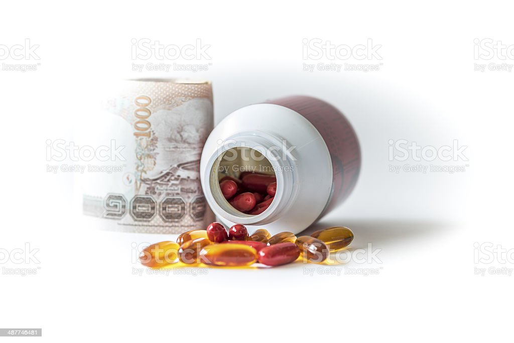 Drugs pills royalty-free stock photo