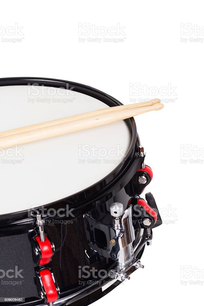 Drum close up stock photo