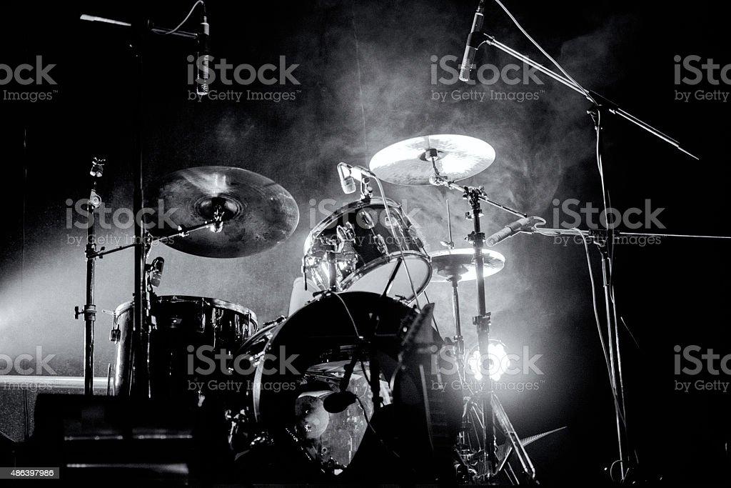 Drum ?it stock photo